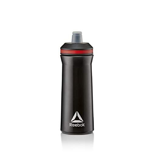 Reebok Botella de Agua - Negro, 750 ml