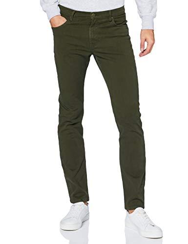 Lee Rider' Jeans Pantalones, Serpico Green, 40W x 34L para Hombre
