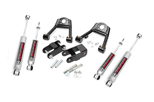 """Rough Country 2"""" Lift Kit (fits) 1987-1997 D21 Hardbody 4WD 