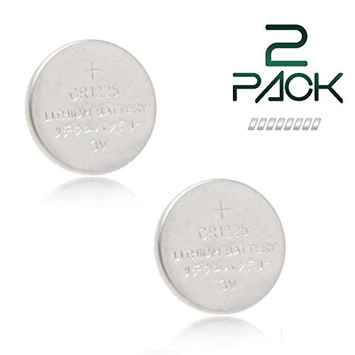 Thermometer Battery CR1225 - 2 Pack - GloFX Brand - Long Life 3V Coin Button Cell Lithium 1225 Batteries for Thermometers
