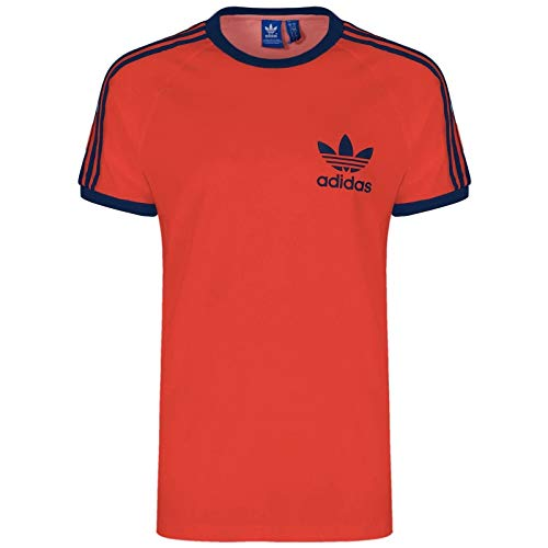 adidas Originals ESS Herren T-Shirt, Rot Gr. XL, rot, schwarz