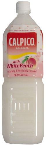 Calpico Soft Drink, Peach, 50.67-Ounce (Pack of 2)