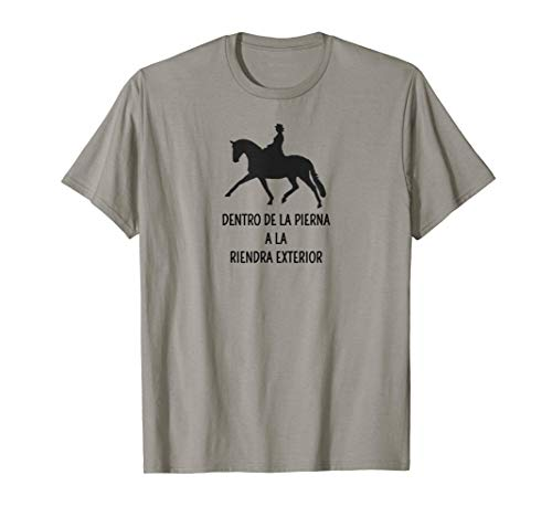 Pata interior para rienda Caballo español de doma Camiseta