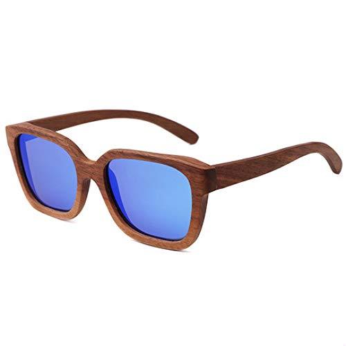 PZXY Holz Sonnenbrillen Polarisierte UV-Schutzbrillen für Männer und Fraue