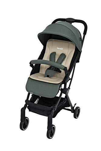 Carrinho de Bebé BREVI Molla Cinza