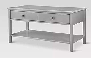Windham Coffee Table Painted Hardwood - Threshold (Gray)