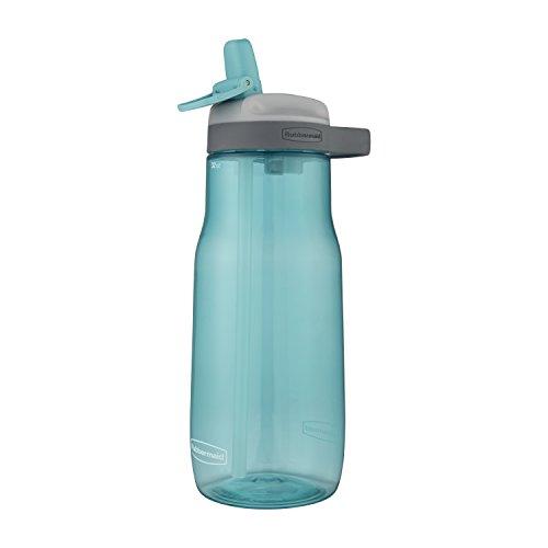 Rubbermaid 2000775 Sip Bottle, Tritan, Aqua Waters