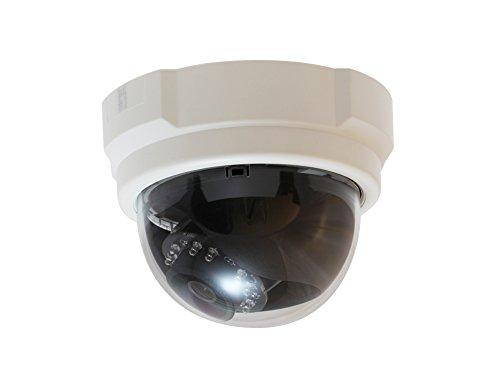 LevelOne FCS-3063 Feste-Dom-IP-Netzwerk-Kamera, 5 Megapixel, 802.3af PoE, IR-LEDs
