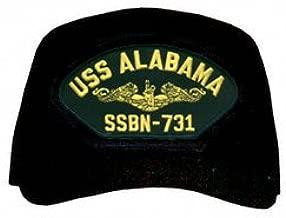 USS Alabama SSBN-731 (Gold Dolphins) Submarine Officers Cap