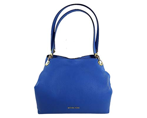 Made of Leather; Open top with snap closure; Large Middle zip compartment; 2 open compartments on both sides Zip pocket inside; 4 Slide pockets and key hook; Doubles Shoulder strap; 11 inches drop from shoulder Gold or Silver hardware Measurements: L...