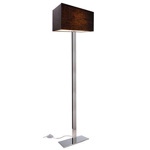 Lámpara de pie LED E27 lámpara de suelo luz interior salón oficina estudio 160 cm 230 V