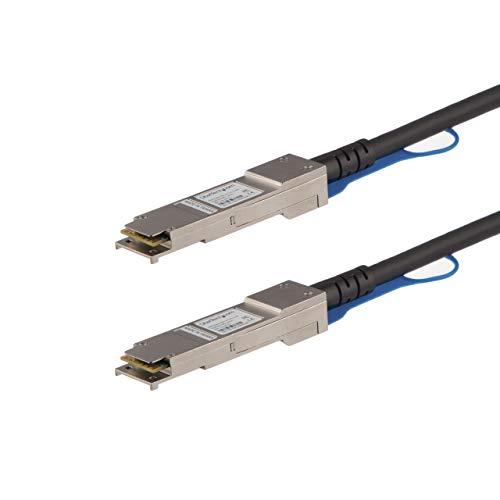 StarTech.com 1m QSFP+ Direktverbindungskabel - MSA konform - 40G QSFP+ Kabel - Passives Twinax Kabel - QSFP Kabel