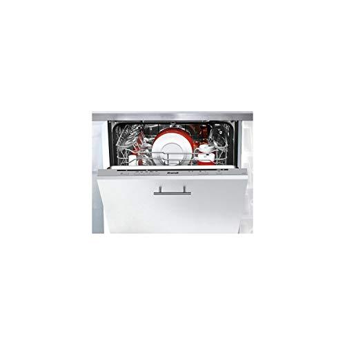 Brandt VH1772J lavavajilla Totalmente integrado 12 cubiertos A++ - Lavavajillas (Totalmente integrado, Tamaño completo (60 cm), Plata, Botones, LED, 1,5 m)