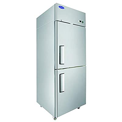 Atosa MBF8007GR Single Section Reach-in Freezer with Right Hinged Half Doors