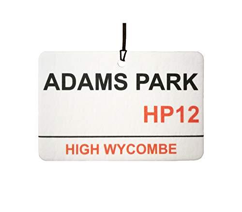 Wycombe Wanderers/Adams Park Street Sign Car Air Freshener