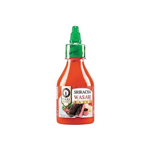 Sriacha Wasabi Sauce- 200 ml Chili- Meerrettich- Sauce, Thai- soße, Chili-soße, Fleischgerichte