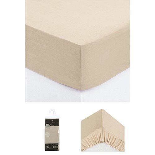 Drap housse lin 90x190cm
