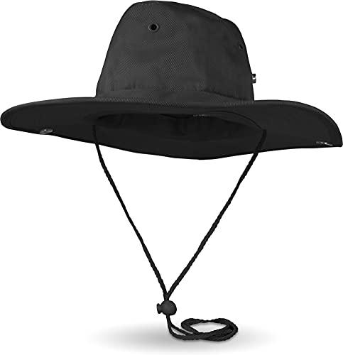 normani Kinder Sommerhut Buschhut mit UV-Schutz Farbe Schwarz