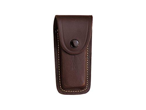 Joker Funda de Cuero FB07 para Navaja, Color marrón, tamaño 45 x 130 mm