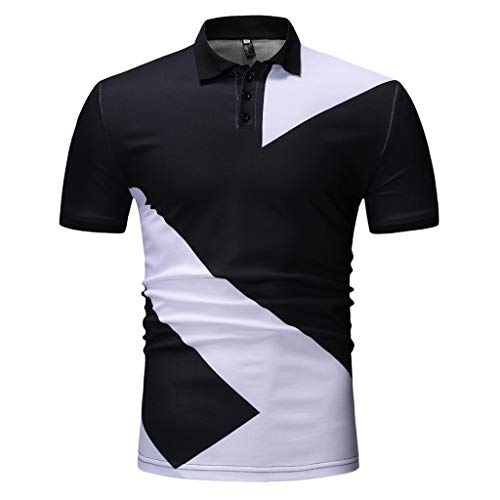 CICIYONER Poloshirts Herren Sommer Polo Shirt Poloshirt Kurzarmshirt Sportshirt T-Shirt Freizeit Hemd Slim Fit M L XL XXL XXXL