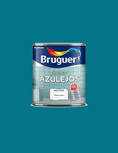 Pintura brillante para azulejos Bruguer (Azul Egeo)