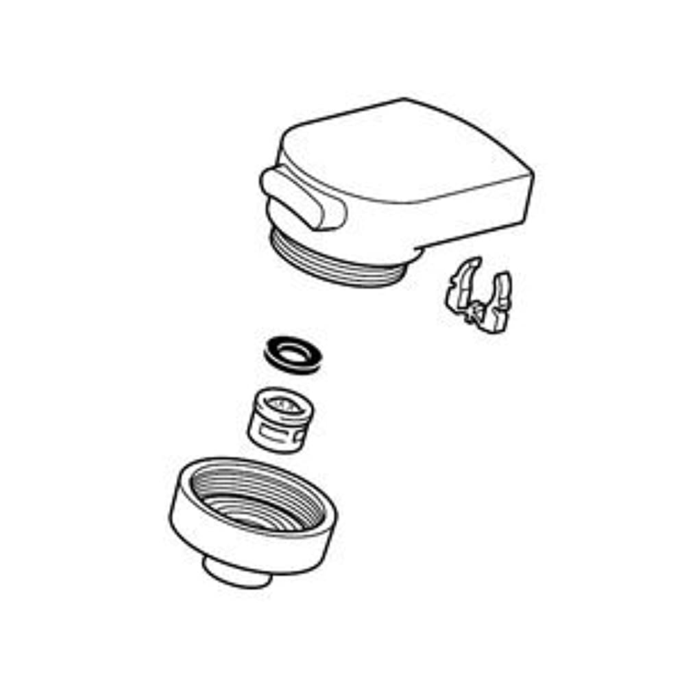 ジャングルボタンガイダンス●[HC740-6] KVK 水栓金具 LFB244(W)U16シリーズ用 シャワーヘッド