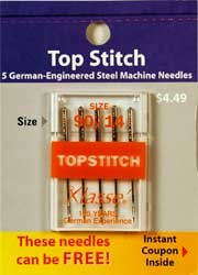 Klasse' Top Stitch Needles Size 90/14