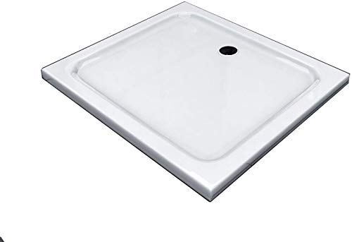 BuyLando.Shop [Typ-DT] Duschtasse Duschwanne Acrylwanne Sanitär-Acryl Brausewanne 5 cm flach Variation (90x75cm)