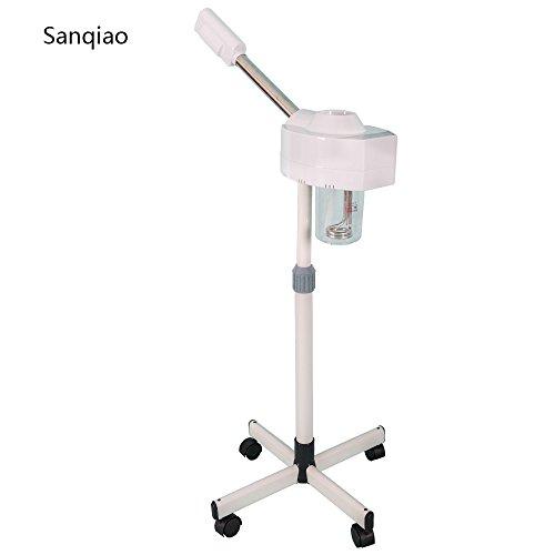 Sanqiao Digitale Steuerung Gesichtsdampfer Gesichtssauna nano ionen warm Dampf Gesicht Dampf für Heim und Schönheitssalon Luftbefeuchter mit Aromatherapie Diffusor und Ozon Funktion
