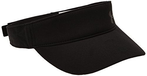 Under Armour Women's Fly Fast Visor, Black (001)/Black, One Size Fits All