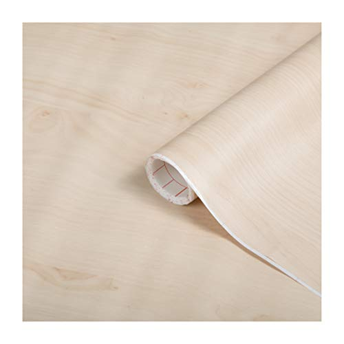 d-c-ix, Holz, Design Birke, Rolle 45 cm x 200 cm, selbstklebend