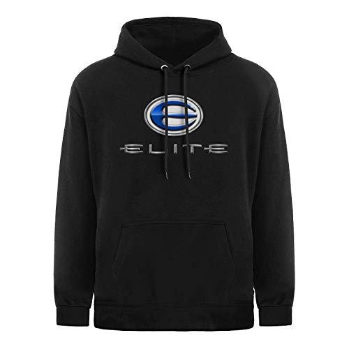 WalterFanny Men Hoodie Elite-Archery- Heavyweight Fleece Cozy Pullover Sweater