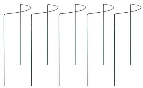 bellissa Busch- und Strauchstützen-Set 70cm - 7519-5X Rankhilfen zum Abstützen von Büschen Sträuchern