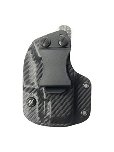 BORAII Inc IWB/Appendix Carry Holster Black KYDEX with Black Screws - Choose Model (Right, SCCY CPX1/ CPX2)
