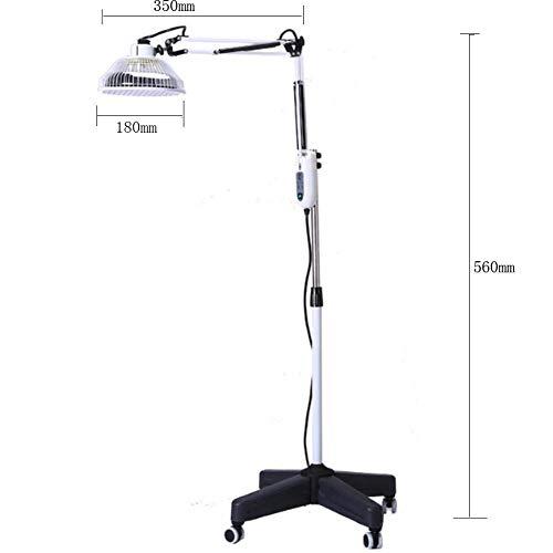 ZJ-GLY Hyperthermie-Lampe, Medizinische TDP-Infrarot-Infrarot-Fußbodenheizung für Fußbodenheizung Physiotherapie mit Ständer und flexiblem Arm für die Mineral-Therapie-Thermotherapie