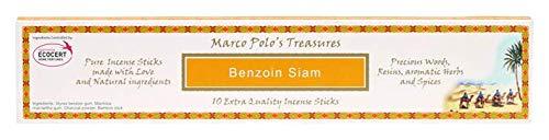 Wierookstokjes Benzoin Siam Marco Polo groen