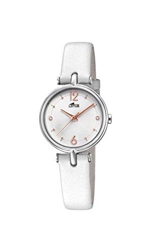 Lotus Watches Reloj Análogo clásico para Mujer de Cuarzo con Correa en Cuero 18458/1