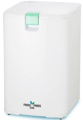 島産業 家庭用屋内型生ごみ処理機(乾燥式) パリパリキューブ グリーン PPC-01-GN