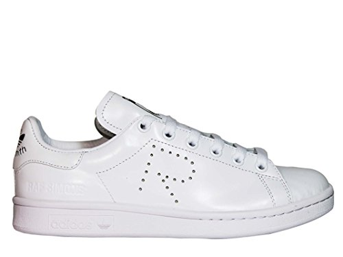 adidas by RAF Simons Damen S81167 Weiss Leder Sneakers