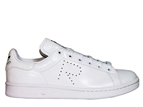 adidas by RAF Simons Damen S81167 Weiss Leder Sneakers