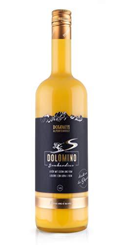 Dolomino - der Bombardino von Dolomiti 16% vol.│ cremiger Eier-Likör mit Rum verfeinert│ 1 x 1 Liter