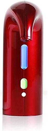 Decantador de Vino Cristal Decantador Eléctrico Portátil Con Sello De Goma Sellado - Aireación De 1 Botón, Diseño Ultrarrápido, Dispensador De Whiskies, Dispositivo De Autolimpieza, Accesorio De Vino