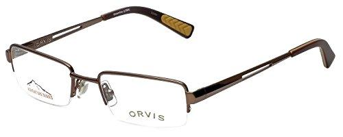 Orvis Designer Eyeglasses Streamline in Light-Brown 47mm DEMO LENS