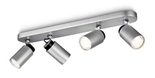 Philips 556544816 Ecomoods Lampada a 4 Spot a Risparmio Energetico