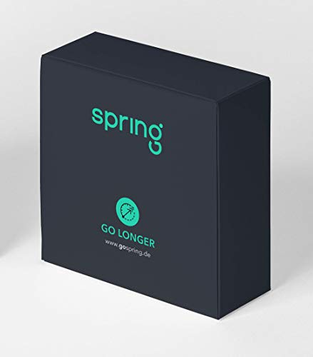 Spring GoLonger Premium Kondome - Aktverlängernde Kondome mit dickerer Wandstärke für länger andauerndes Sexvergnügen - Länger Können - Länger Sex - 3er Pack (1 x 3 Stück)