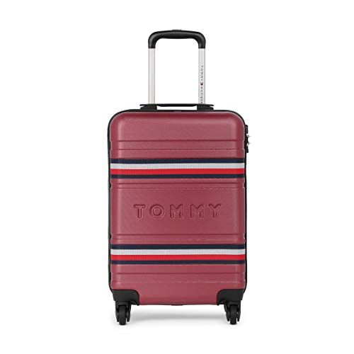 Tommy Hilfiger ABS 57 cms Wine Hardsided Cabin Luggage (TH/THAMESHL05055)