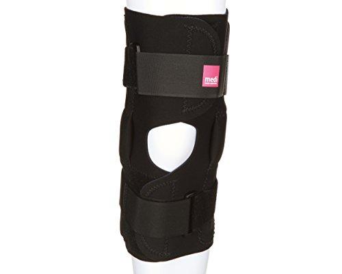 medi Hinged Neoprene Knee Brace best for weak, sore, or misalignment injuries