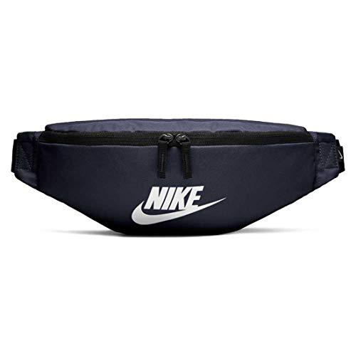 Nike 2018 Gürteltasche, 25 cm, Mehrfarbig (Obsidian/Negro/Blanco)