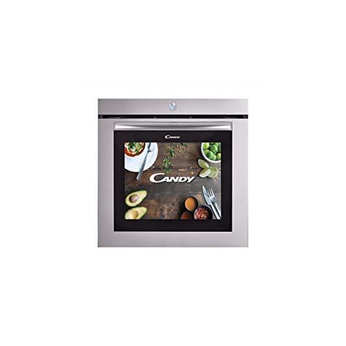 Candy Watch&Touch - Horno, 10 funciones, 78 L, Wi-Fi con video tutoriales y streaming, puerta táctil, cámara y LED interior, cierre suave