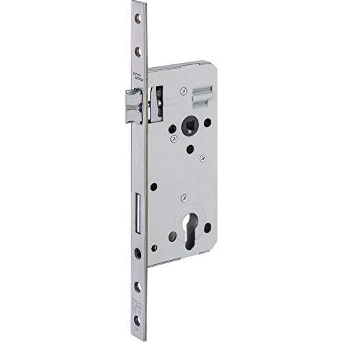 SECOTEC Tür-Einsteckschloss mittelschwer Profil-Zylinder mit Wechselfunktion  Dornmaß 70 mm, 1 Stück